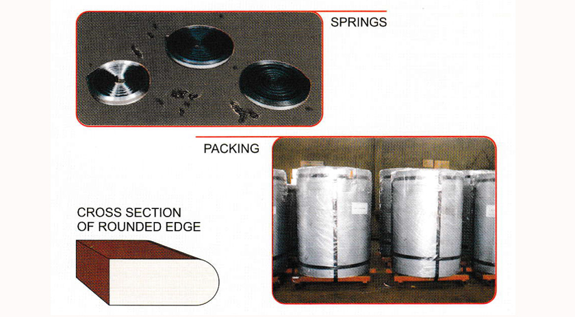 Hardened and Tempered Steel Strips for Band Saw